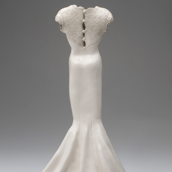 Your Wedding Dress Cloth To Clay Sculpture